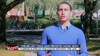 """Lifeline Law"" could have prevented hazing death"