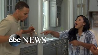Ayesha and Stephen Curry on What Life Is Like at Home
