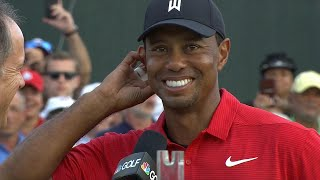 Tiger Woods on Tour Championship win: