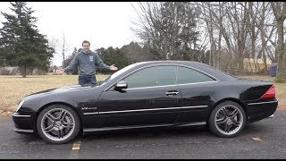 This V12 Mercedes CL65 AMG Is an Insane $30,000 Used Car