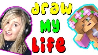 LITTLE KELLYS DRAW MY LIFE! Kelly and Carly Vlogs