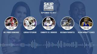 UNDISPUTED Audio Podcast (9.13.17) with Skip Bayless, Shannon Sharpe, Joy Taylor | UNDISPUTED