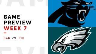 Carolina Panthers vs. Philadelphia Eagles | Week 7 Game Preview | Move the Sticks