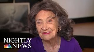 98-Year-Old Stays Young With Yoga, Ballroom Dancing | NBC Nightly News