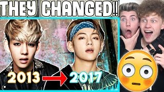 BTS EVOLUTION 2013 - 2017
