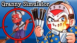 "Granny Simulator | ""GRANNYTOONZ IS GOING DOWN"""