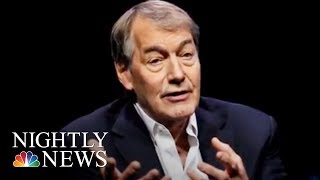 Charlie Rose Accused Of Sexual Misconduct By 8 Women   NBC Nightly News