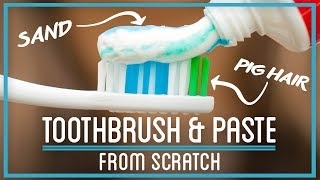 Pig Hair Toothbrush, Sand, and Hooves: Teeth Cleaning from Scratch
