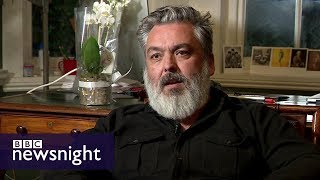 Jez Butterworth: My message to Harvey Weinstein - BBC Newsnight