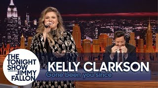 "Kelly Clarkson Sings ""Since U Been Gone"" (""Gone Been U Since"") Backwards"