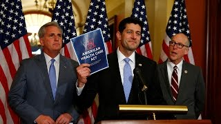 Congress debates new healthcare bill to replace Obamacare