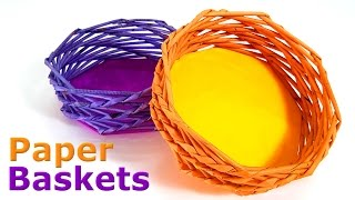 How to make Paper Baskets