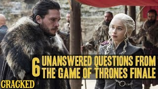 The Game of Thrones Finale Left A Lot Of Unanswered Questions: Ep 7 - The Dragon and the Wolf Review