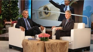 President Obama Talks The First Lady