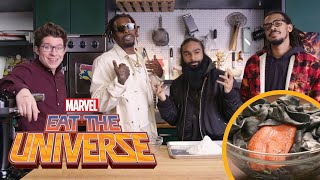 """Eat the Universe: Episode 2 - Venom-inspired Pad See """"Us"""" (ft. Flatbush Zombies)"""