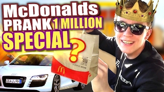 McDonalds PRANK FAIL - 1 MILLION SPECIAL - McDonalds Roulette