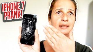 IPHONE 7 DISPLAY KAPUTT PRANK!   Mert Matan
