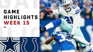 Cowboys vs. Colts Week 15 Highlights   NFL 2018