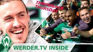 Max Kruse mit Humor, Theos Tor im Throwback   WERDER.TV Inside vor VfL Wolfsburg
