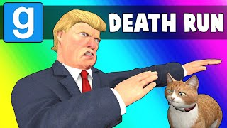 Gmod Death Run Funny Moments - Climbing Trump Tower! (Garry