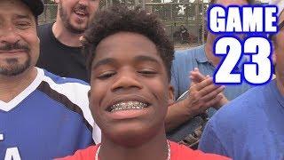 GABE HITS THREE HOME RUNS IN ONE GAME!   On-Season Softball Series   Game 23