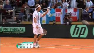 Davis Cup Highlights: Germany 1-4 Argentina