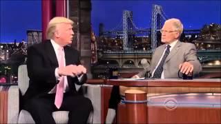 Donald Trump on David Letterman 17 October, 2013 Full Interview