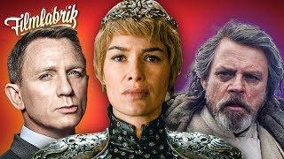 STAR WARS 9 ohne Regisseur | GAME OF THRONES negativer Rekord | JAMES BOND bei Apple?
