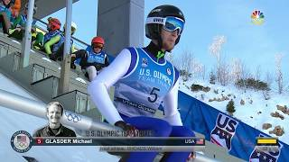 Olympic Ski Jumping Trials | Michael Glasder Jumps To Olympic Debut At Age 28