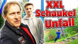 Sonntags Video | Unfall auf der RIESEN Schaukel 😱 Family VLog | TipTapTube