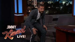 Shia LaBeouf Has a Poop-Eating Puppy