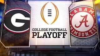 Georgia VS Alabama LIVE FAN REACTION END OF GAME 4th Quarter