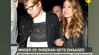 Singer Ed Sheeran announces about his engagement