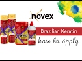 Novex Brazilian Keratin - How to applymp3