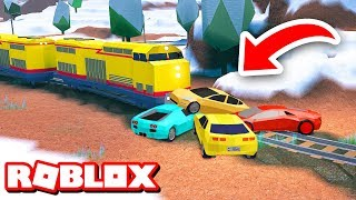 STOPPING THE TRAIN!! | Roblox Jailbreak Prank