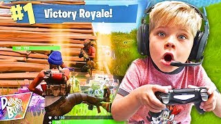 Ollie Plays Fortnite Battle Royale! 💥 (VICTORY!!)