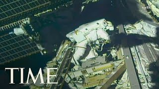 Astronauts Made Urgent Repairs At The International Space Station | TIME