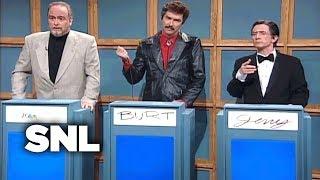 Celebrity Jeopardy!: Sean Connery, Burt Reynolds, Jerry Lewis - SNL