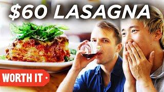 $13 Lasagna Vs. $60 Lasagna
