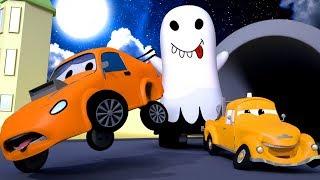 Edgar ist ein Gespenst ! 💀 🎃 Halloween in Car City 👻 Cartoons für Kinder