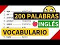 200 palabras importantes en inglés y su...mp3