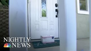 Porch Pirates: Criminals Stealing Packages Off Doorsteps | NBC Nightly News