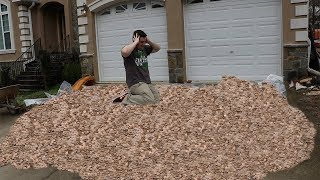 Giving 3,000,000 Pennies To My 3,000,000th Subscriber