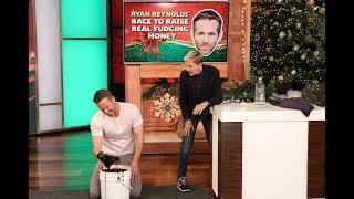Ryan Reynolds Gets Dirty in