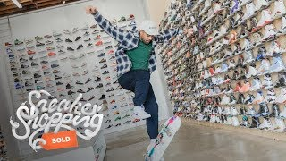 Eric Koston Goes Sneaker Shopping With Complex