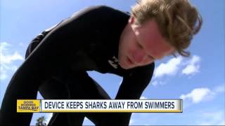 New device hopes to prevent shark attacks by using electromagnetic field