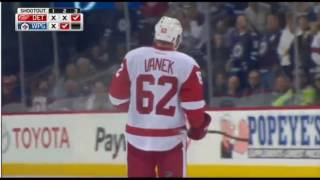 DETROIT RED WINGS vs WINNIPEG JETS (SHOOTOUT) Dec 6