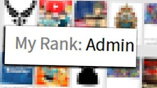 PRANKING PEOPLE AS A ROBLOX HIGH RANK