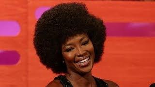 NAOMI CAMPBELL Addresses Her Wildest Craziest Rumors - The Graham Norton Show on BBC AMERICA