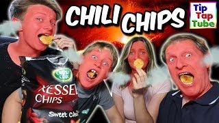 EXTREM scharfe Chips in schwarzer Tüte!? DER TEST! TipTapTube